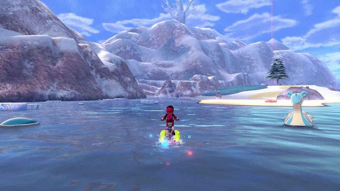 Pokémon Espada y Escudo Nieves de la Corona lago