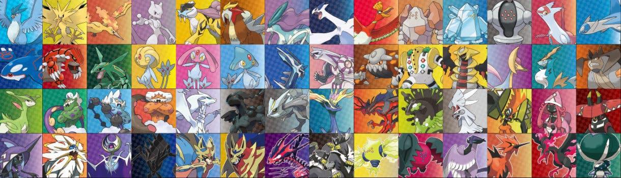 Pokémon Espada y Escudo legendarios