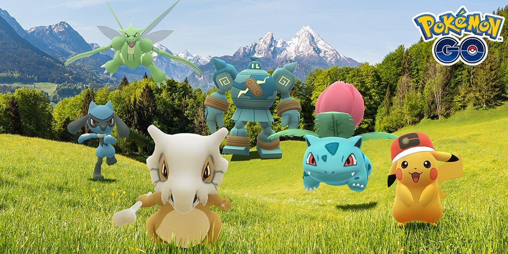 Pokémon GO Semana de la Animación Viajes Pokémon