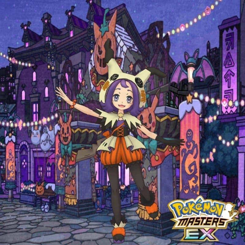 Pokémon Masters Zarala traje Halloween