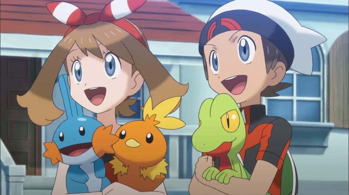 Pokémon iniciales Treecko Torchic Mudkip