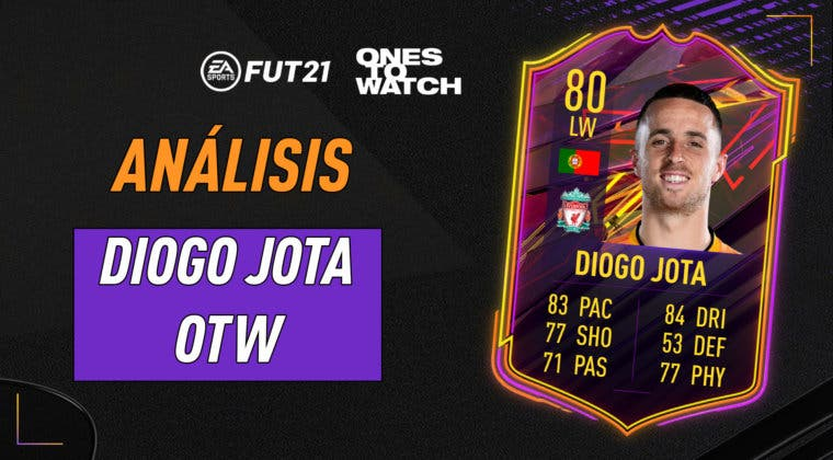 Imagen de FIFA 21: análisis de Diogo Jota Ones to Watch, la primera carta free to play de Ultimate Team