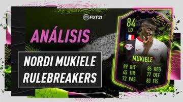 Imagen de FIFA 21: análisis de Mukiele Rulebreakers, la nueva carta gratuita de Ultimate Team
