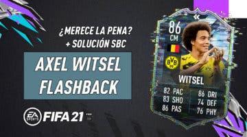 Imagen de FIFA 21: ¿Merece la pena Axel Witsel Flashback? + Solución de su SBC