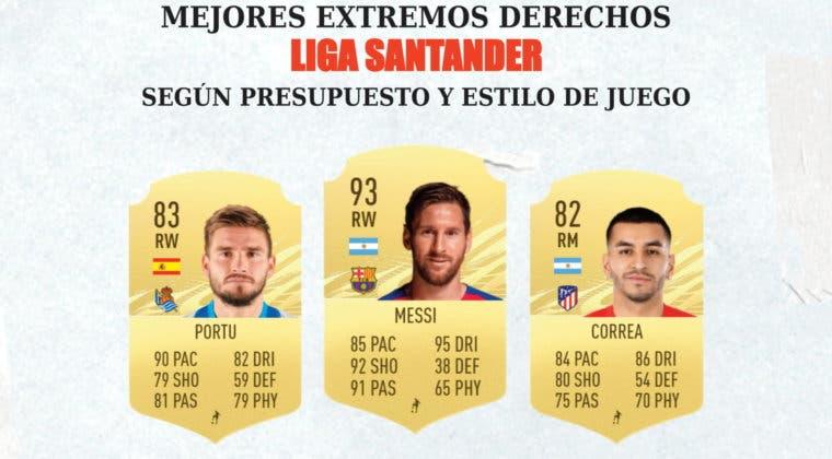 Imagen de FIFA 21: los mejores extremos derechos de la Liga Santander para cada rango de precio y estilo de juego