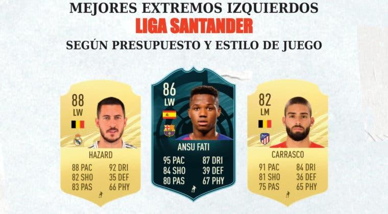 Imagen de FIFA 21: los mejores extremos izquierdos de la Liga Santander para cada rango de precio y estilo de juego