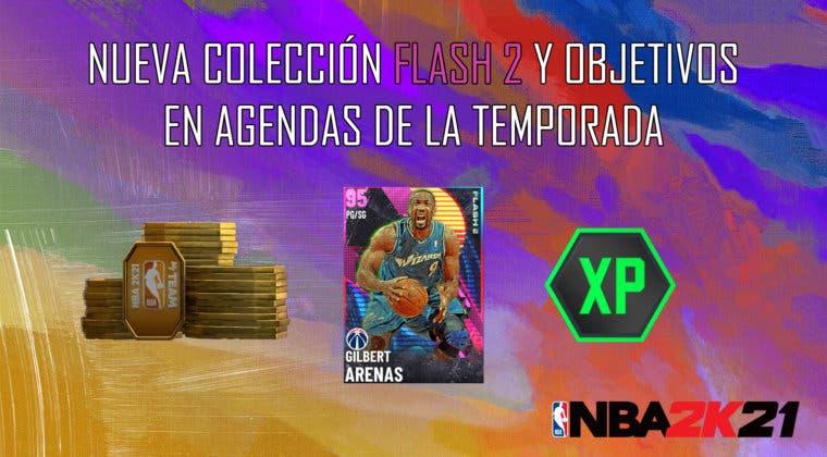 Imagen de NBA 2K21 MyTeam: nueva colección Flash 2, desafío semanal y objetivos en Agendas de la Temporada