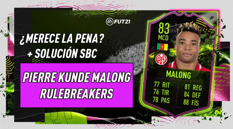 Imagen de FIFA 21: ¿Merece la pena Malong Rulebreakers? + Solución de su SBC
