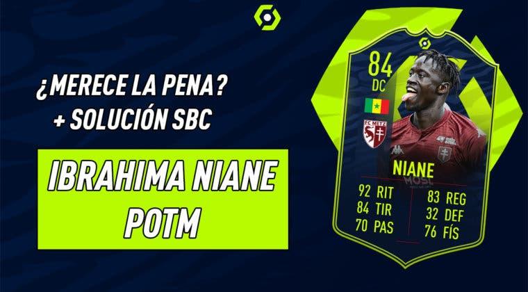 Imagen de FIFA 21: ¿Merece la pena Niane POTM de la Ligue One? + Solución de su SBC