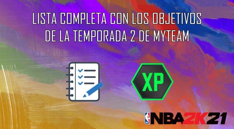 Imagen de NBA 2K21 MyTeam: lista completa con los objetivos del pase de temporada 2
