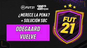 """Imagen de FIFA 21: ¿Merece la pena el SBC """"Odegaard vuelve""""?"""
