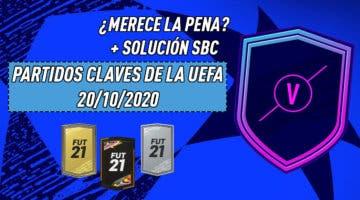 """Imagen de FIFA 21: ¿Merece la pena el SBC """"Encuentros Marquesina UEFA""""? (20/10/2020)"""