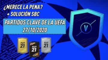 """Imagen de FIFA 21: ¿Merece la pena el SBC """"Partidos Clave de la UEFA""""? (27/10/2020)"""