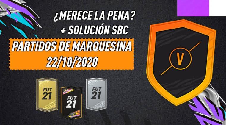 """Imagen de FIFA 21: ¿Merece la pena el SBC """"Partidos de marquesina""""? (22/10/2020)"""