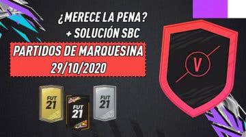 """Imagen de FIFA 21: ¿Merece la pena el SBC """"Partidos de marquesina""""? (29/10/2020)"""