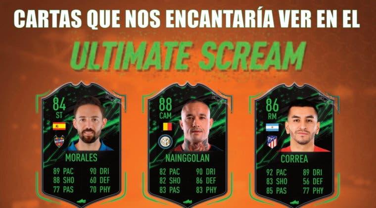 Imagen de FIFA 21: cartas Scream que nos encantaría ver