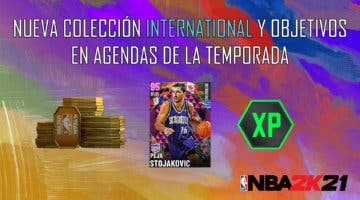 """Imagen de NBA 2K21 MyTeam: nueva colección International, desafío """"Bajo los focos"""" y objetivos en Agendas de la Temporada"""