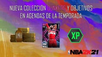 """Imagen de NBA 2K21 MyTeam: nueva colección Dunkers, desafío """"Bajo los focos"""" y objetivos en Agendas de la Temporada"""