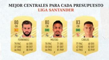 Imagen de FIFA 21: los mejores centrales de la Liga Santander en cada rango de precio