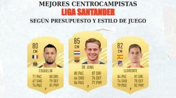 Imagen de FIFA 21: los mejores centrocampistas de la Liga Santander para cada rango de precio y estilo de juego