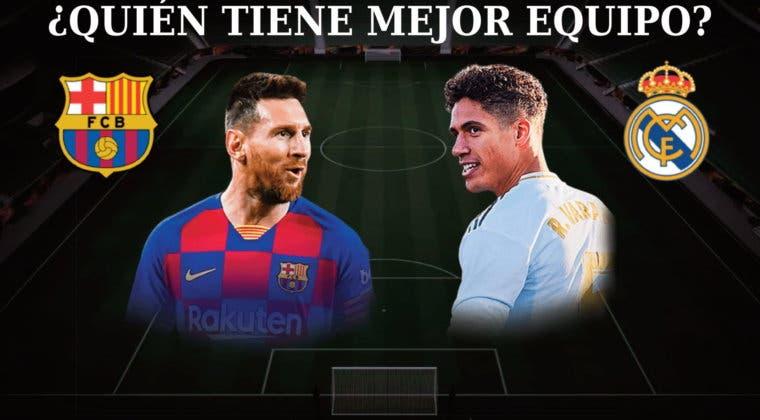 Imagen de FIFA 21: ¿Barcelona o Real Madrid? Vota por el mejor equipo para Ultimate Team