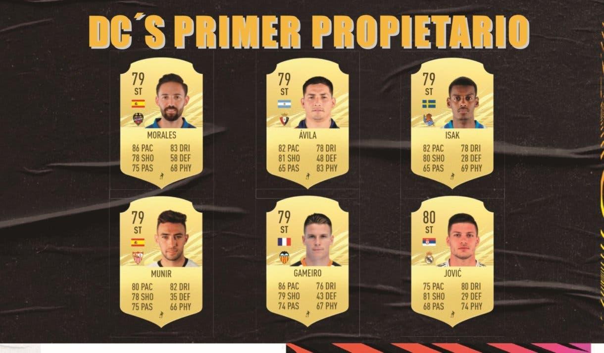 Delanteros centros primer propietario Liga Santander FIFA 21 Ultimate Team