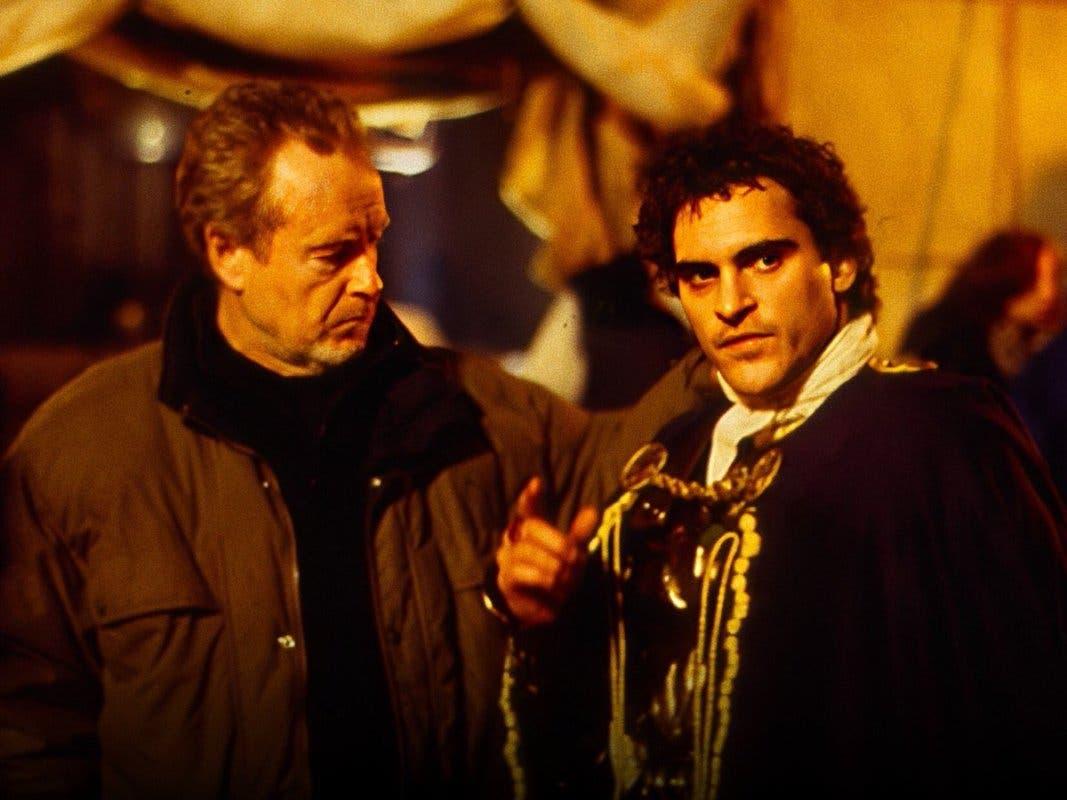 Joaquin Phoenix y Ridley Scott volverán a trabajar juntos