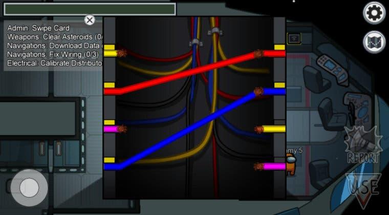 Imagen de Among Us: cómo descubrir si alguien está fingiendo la tarea de los cables