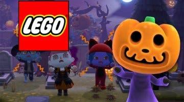 Imagen de Animal Crossing: New Horizons celebra Halloween recibiendo nuevos patrones de LEGO