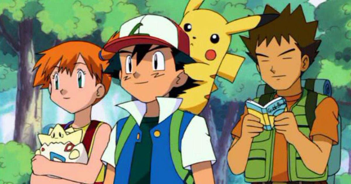 anime de Pokémon Ash Misty Brock