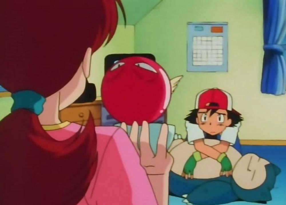 anime de Pokémon Ash episodio 1