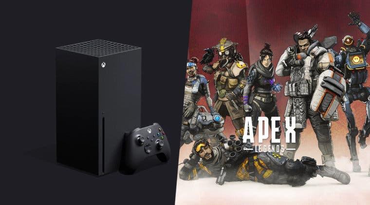 Imagen de Apex Legends se deja ver funcionando en Xbox Series X por primera vez
