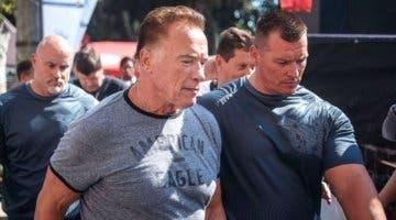 Imagen de Arnold Schwarzenegger, en pleno proceso de recuperación tras una operación de corazón