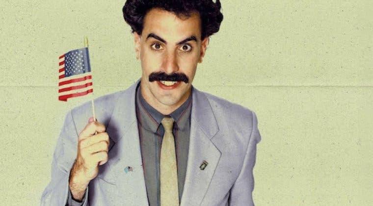 Imagen de Polémica en Francia por los carteles promocionales de Borat 2