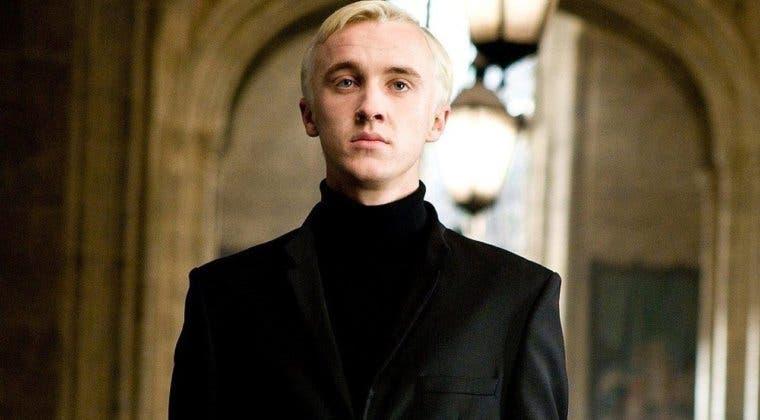 Imagen de Tom Felton está intentando hacer una reunión de Harry Potter