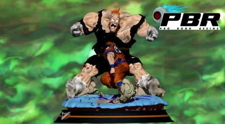 Imagen de Dragon Ball Z: Así es la increíble figura de Goku contra Recoome