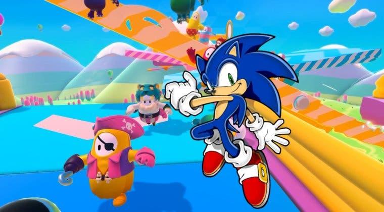 Imagen de Sonic contará con su propio disfraz en Fall Guys en la temporada 2