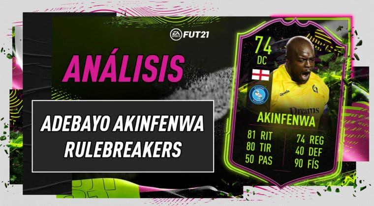Imagen de FIFA 21: análisis de Akinfewa Rulebreakers, la nueva carta free to play