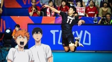 Imagen de Un jugador de la selección japonesa de voleibol elogia a Haikyuu!!