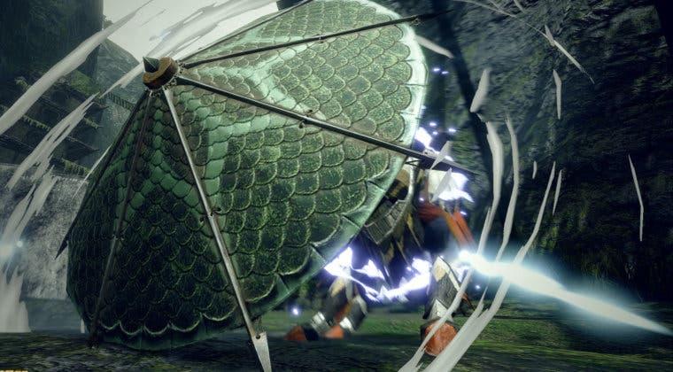 Imagen de Monster Hunter Rise: Así se combate con el Hacha cargada y la Cornamusa