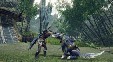 Imagen de Monster Hunter Rise se luce en un nuevo gameplay centrado en la Gran Espada