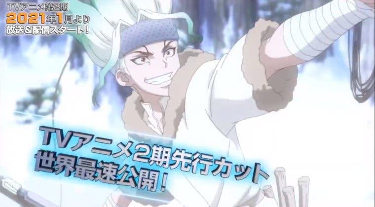 Imagen de Dr. Stone lanza un nuevo teaser de su temporada 2 de anime