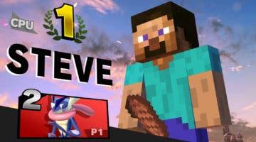 Imagen de Super Smash Bros. Ultimate elimina la 'sugerente' pose de victoria de Steve