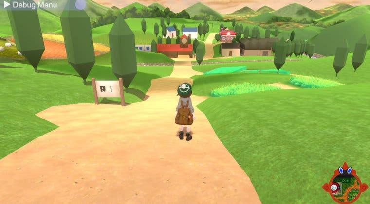 Imagen de Se filtra una 'beta' de Pokémon Espada y Escudo con minimapa, Mega Rayquaza y más