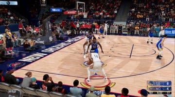 Imagen de NBA 2K21 muestra un gameplay en PS5 y Xbox Series sin editar