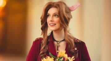 Imagen de Final Fantasy VII Remake: La actriz de voz de Aeris hace el mejor cosplay del personaje