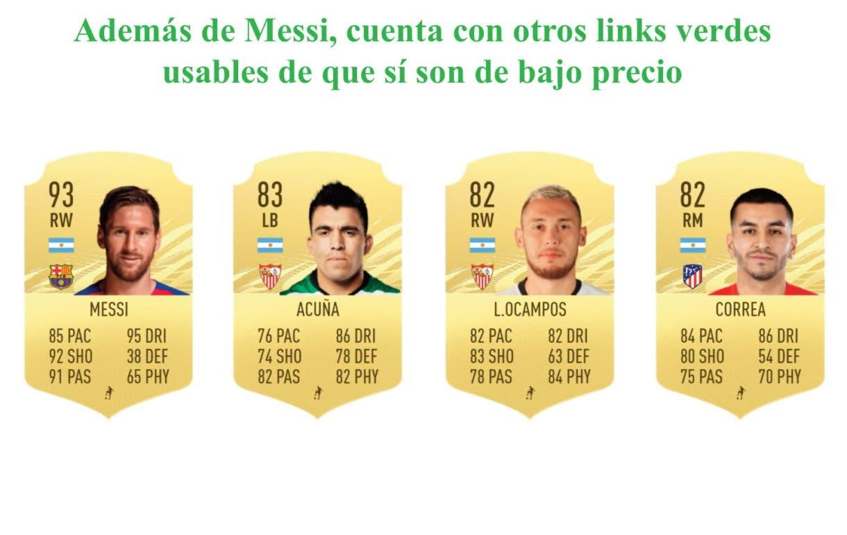 FIFA 21 Ultimate Team Chimy Ávila links