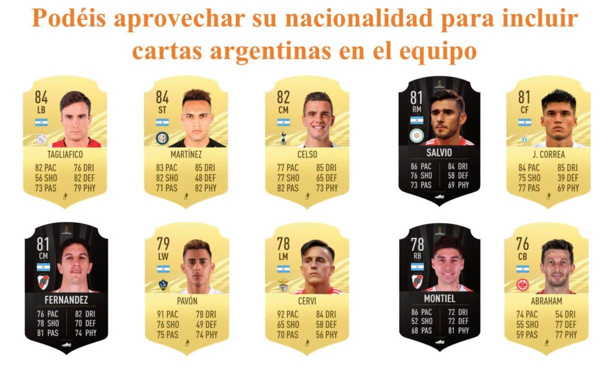 FIFA 21 Ultimate Team Chimy Ávila links naranjas