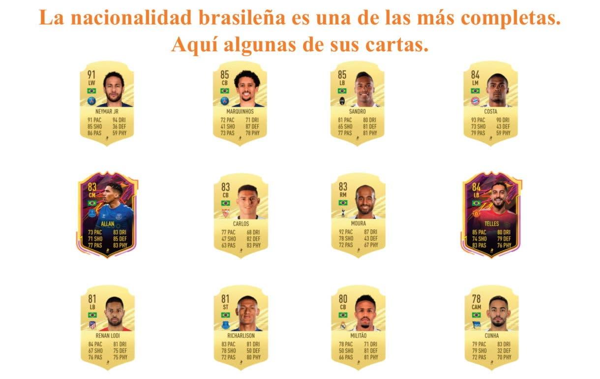 FIFA 21 Ultimate Team Talisca links naranjas