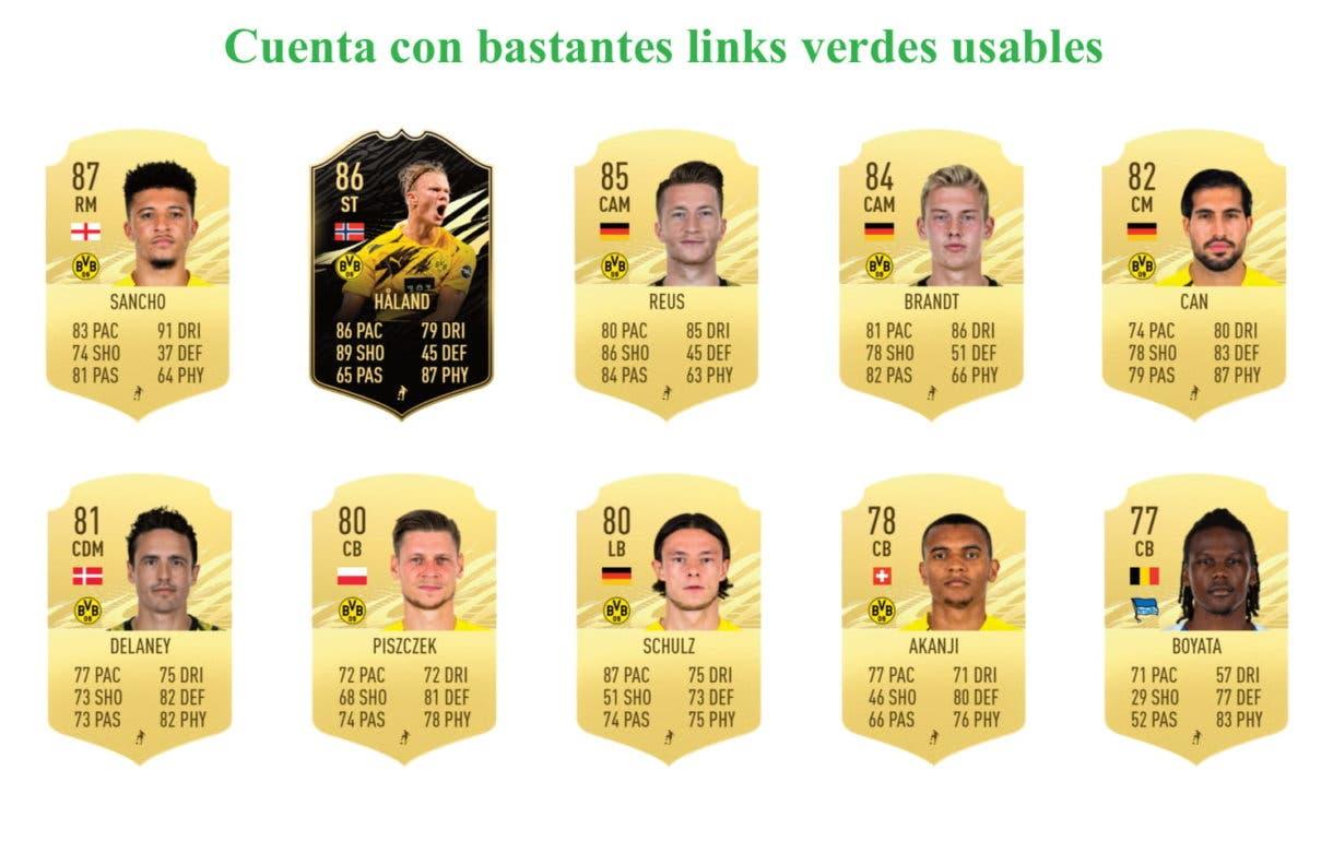 Links verdes Witsel Flashback FIFA 21 Ultimate Team